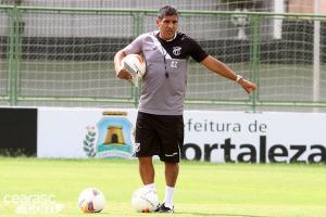 Silas Pereira foi convidado pelo então técnico do Real Madri, Manoel Pellegrino. Foto: Rafael Barros/cearasc.com