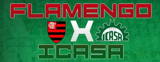 Icasa e Flamengo se enfrentam pela primeira vez na história. Foto: http://www.adrcicasa.com.br/