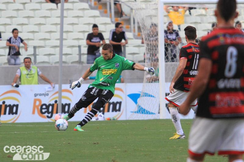 Goleiro Luís Carlos defenderá o Ceará contra o seu ex-clube. Foto: cearasc.com