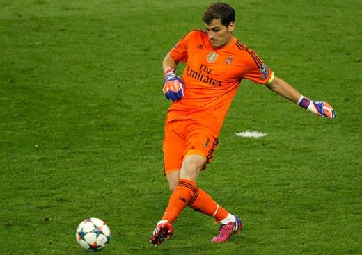Casillas completou nesta quarta-feira 150 jogos pela Liga dos Campeões. Foto: realmadrid.com