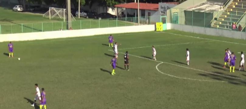 Uniclic terminou a primeira fase da Série B na primeira posição e faria a final do campeonato contra o Tiradentes. Foto: FCF/Divulgação