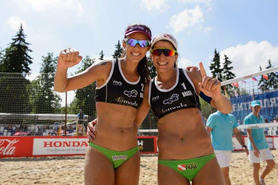 Larissa e Talita jogam juntas há quase um ano. Foto: Facebook/Divulgação