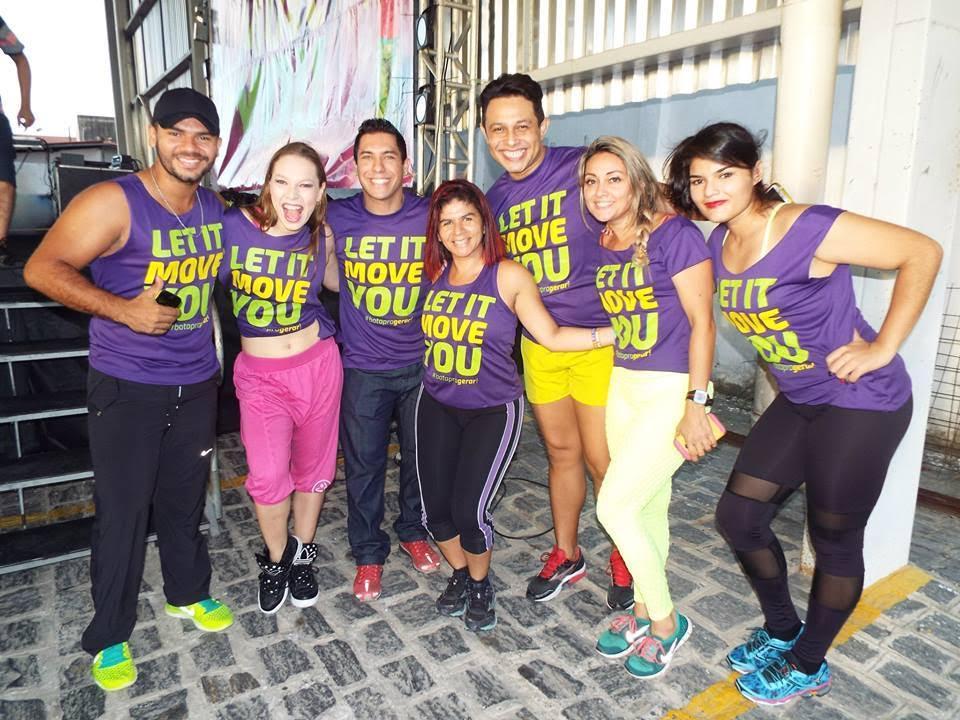 Na sua primeira edição (em 22 de novembro de 2014)  o evento atraiu mais de 320 pessoas. (Foto: Divulgação/Let it Move You)