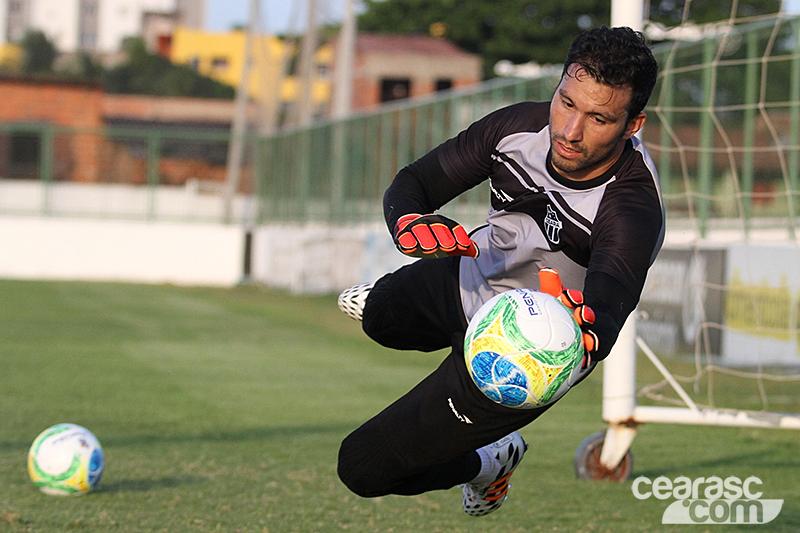 Tiago será titular pela segunda vez seguida no jogo contra o Sampaio Corrêa, neste sábado (6). Foto: cearasc.com/Divulgação