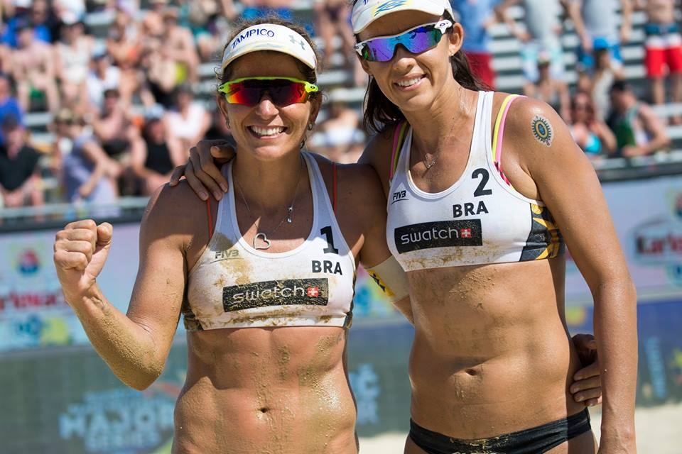 Larissa e Talita venceram no último fim de semana o Grand Slam de Moscou. Foto: LarissaeTalitaOficial/Divulgação
