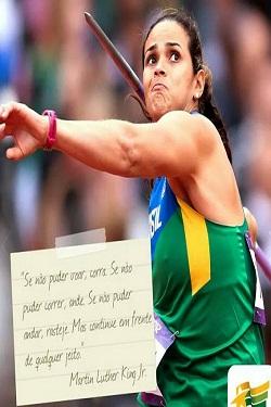 Laila Ferrer representará o Brasil no lançamento de dardo. Foto: Arquivo Pessoal
