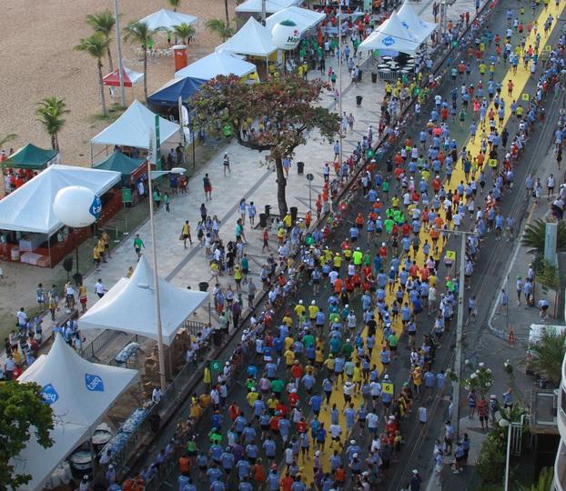 Largada acontece no Aterro da Praia de Iracema. Foto: LC Moreira/ Esportes Pão de Açucar