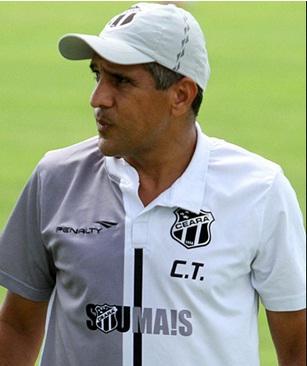 Silas Pereira levou o Ceará ao inédito título da Copa do Nordeste. Foto: Rafael Barros / cearasc.com