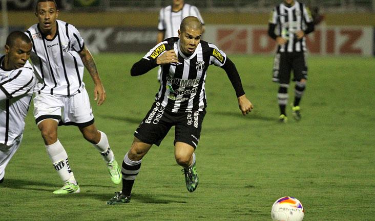 Ceará foi derrotado por 3 a 0  pelo Bragantino, neste sábado (1º). Foto: Christian Alekson / cearasc.com