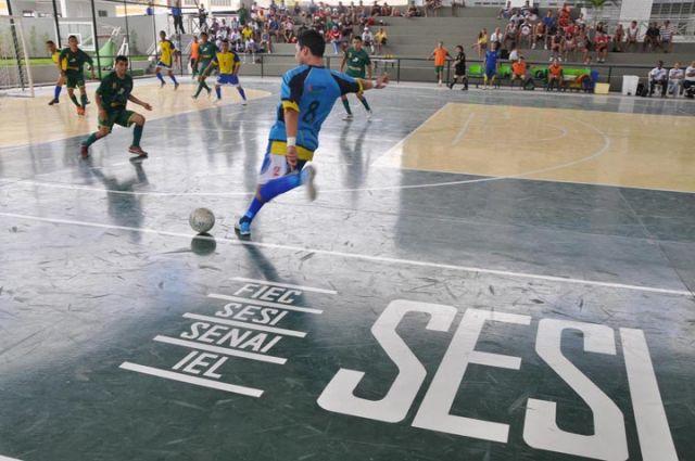 Jogos do Sesi são o maior evento esportivo de classe do país. Foto:/Divulgação