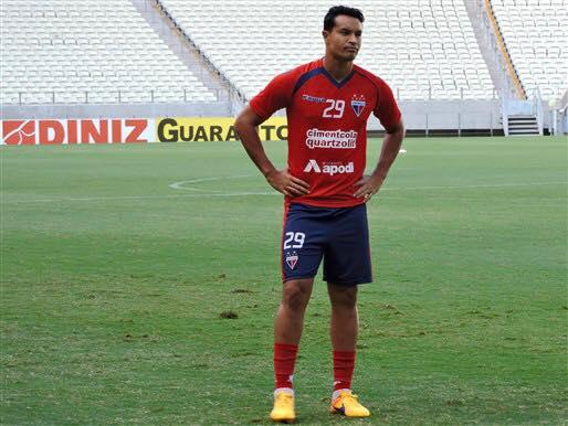 Dudu Cearense chegou ao Fortaleza no início de 2015. Foto: Fortaleza EC/Divulgação