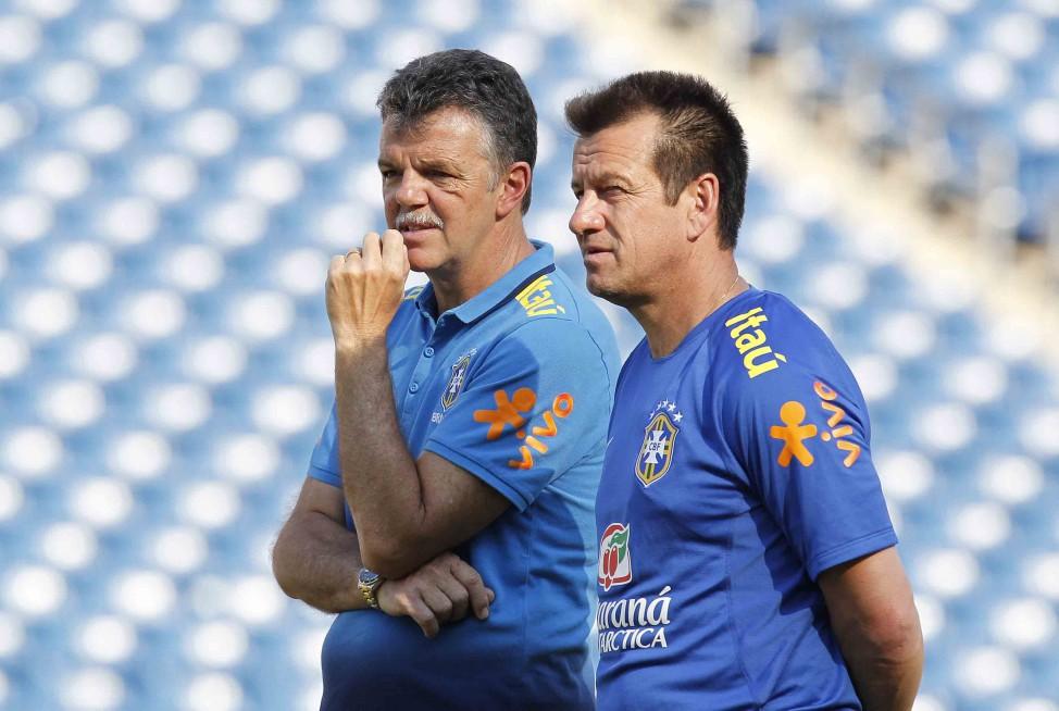 Dunga e Gilmar Rinaldi também vão visitar o Estádio Presidente Vargas.. Foto: Rafael Ribeiro/CBF