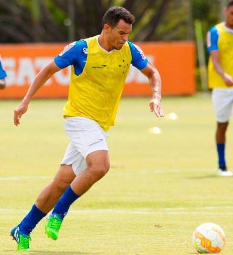Ceará fez seu segundo gol com a camisa do Cruzeiro. Foto: Cruzeiro EC/Divulgação