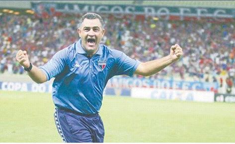 Marcelo Chamusca levou o Fortaleza ao título estadual em 2015. Foto:/Divulgação