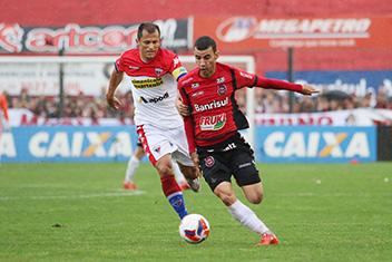 Time cearense criou poucas oportunidades de gols. Foto: Jonathan Silva/ GEBrasil/Divulgação