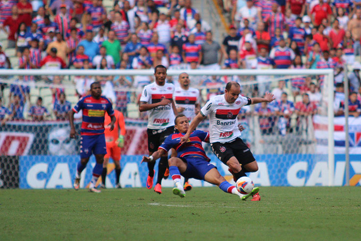 Fortaleza vai disputar a Série C pelo sétimo ano seguido. Foto: Carlos Insaurriaga/ gebrasil/