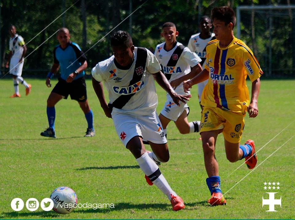 Podem participar da seleção jovens nascidos entre os anos de 1996 e 2006. Foto: Vascodagama/Divulgação