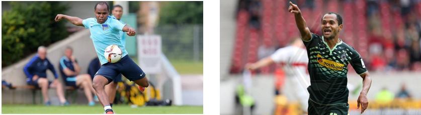 Irmãos cearenses já se enfrentaram em outras oportunidades na Bundesliga. Foto:herthabsc/ Borussia.es