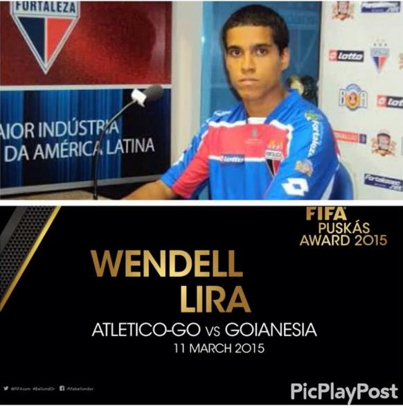 Wendell Lira jogou pelo Fortaleza em 2010. Foto:Fortalezaec/Divulgação