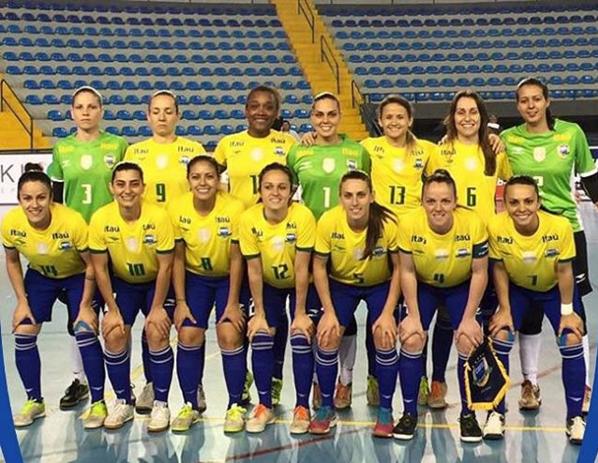 Brasil venceu todas as edições do Mundial. Foto: CBFS/Divulgação