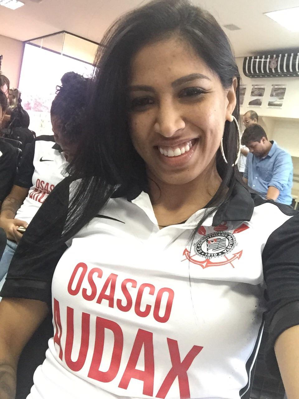 Janaína Queiroz é um dos principais reforços do Corinthians para 2016. Foto: Arquivo Pessoal