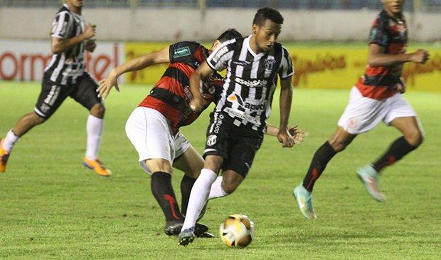 Ceará venceu nesta quarta-feira (3) o Guarany de Sobral por 2 a 0. Foto: Rafael Barros/CearaSC.com