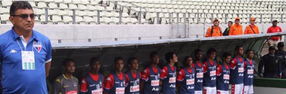 Na vitória diante do Maranguape, nesta quarta, Flávio Araújo completou 40 jogos no comando do Fortaleza. Foto:/Divulgação