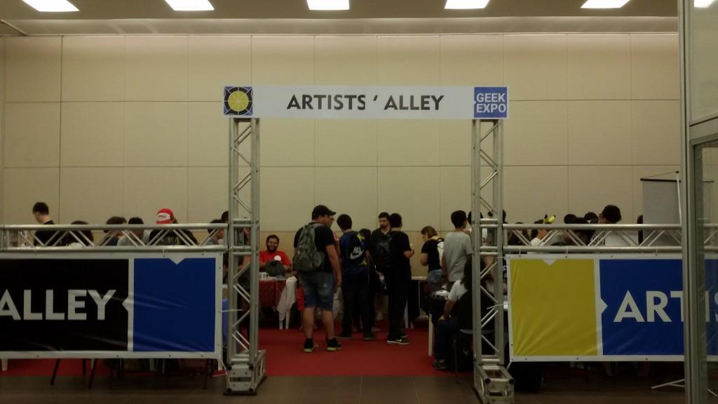Espaço Artists' Alley no Sana Fest 2016 (IMAGEM: Divulgação)