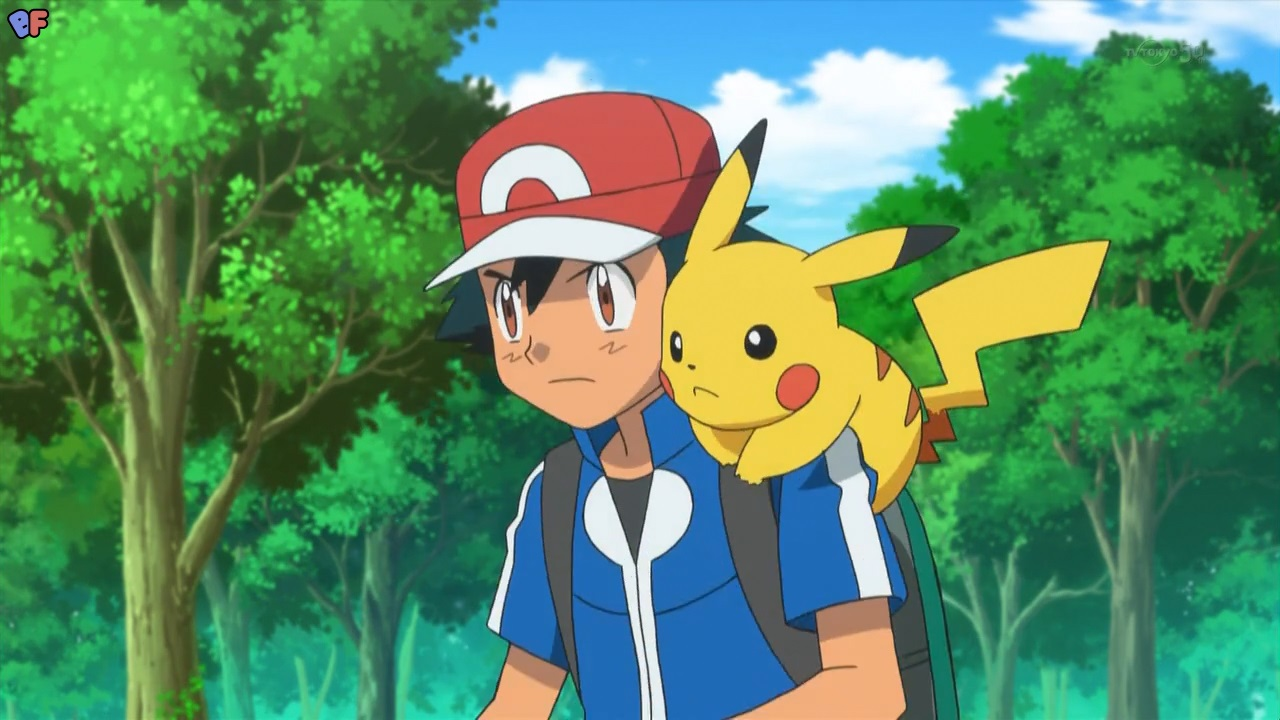 Pokemon Ash Carrying May Images