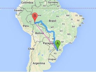 Jogadores de Ypiranga e Rio Branco vão - literalmente - cruzar o país