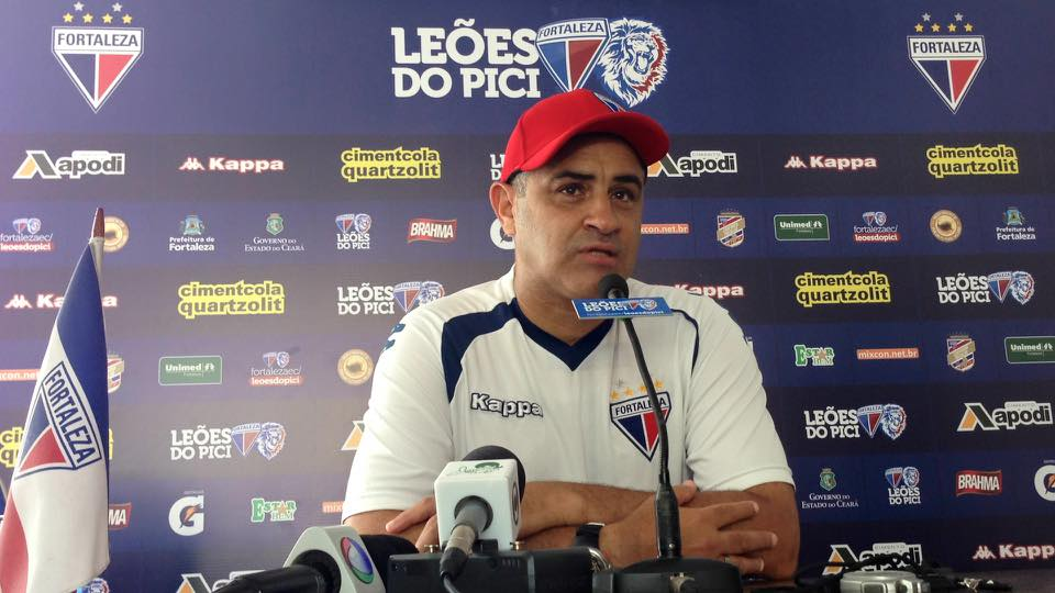 Marcelo Chamusca chegou ao Fortaleza no final de 2013, teve um breve hiato no início do ano, mas logo retornou Foto:facebook/FortalezaEC