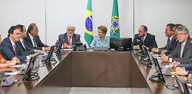 Brasília - DF, 08/12/2015. Presidenta Dilma Rousseff durante reunião com Governadores no Palácio do Planalto. Foto: Roberto Stuckert Filho/PR