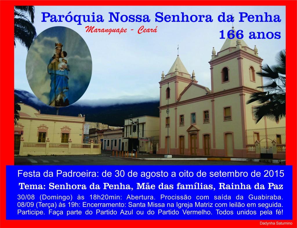Festa de Nossa senhora da Penha em Maranguape. Foto Dadynha Saturnino