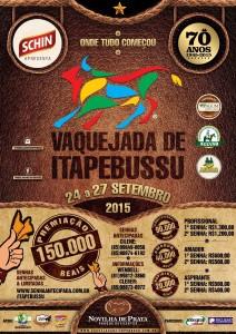 Premiação de R$150mil na 70ª Vaquejada de Itapebussu em Maranguape-CE. Divulgação