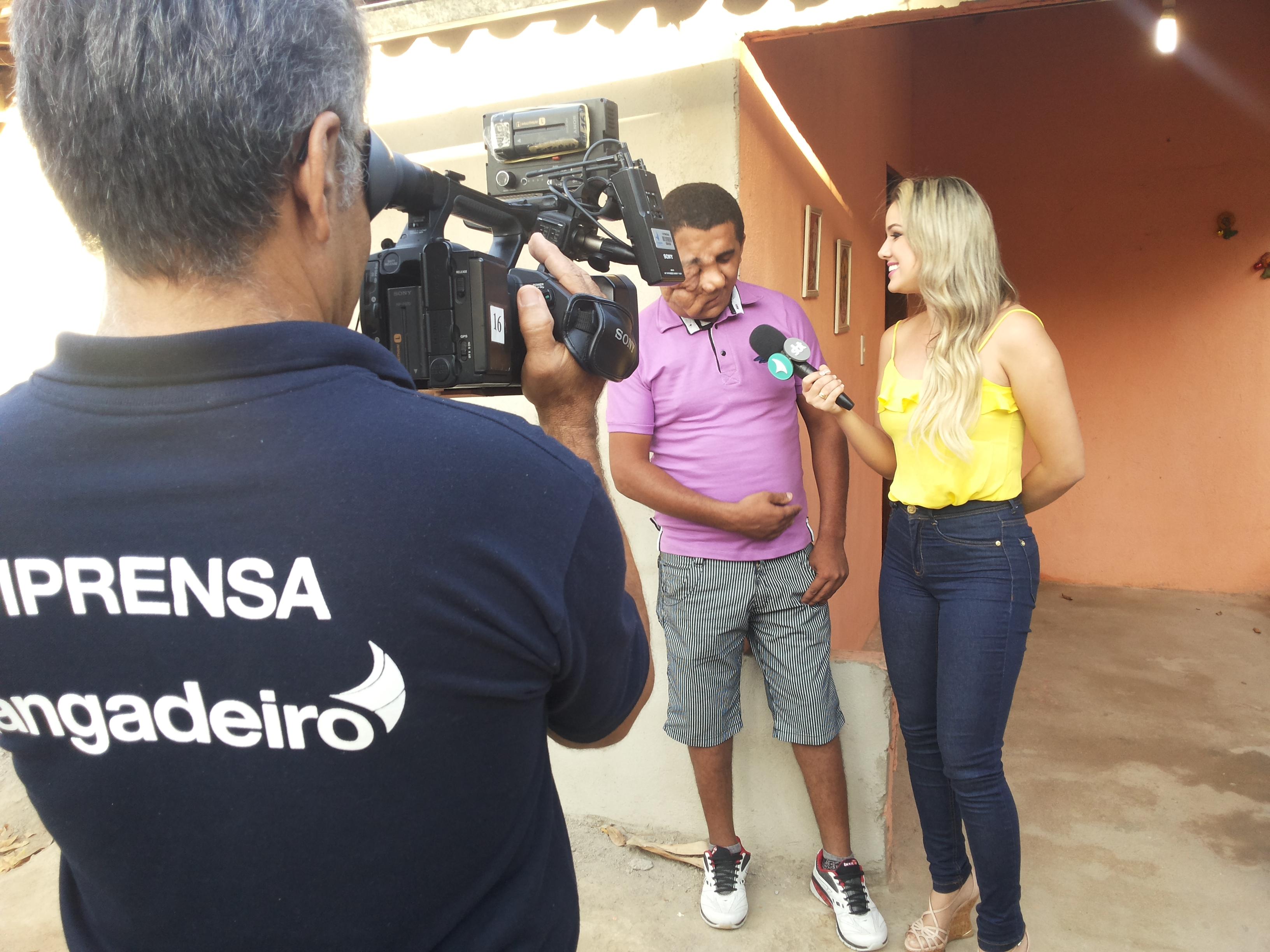 Lorrane Cabral conta a história de Erivando Braga no Gente na TV. Imagens cinematográficas de Ivanildo Bastos. Foto/Produção local Dadynha Saturnino.