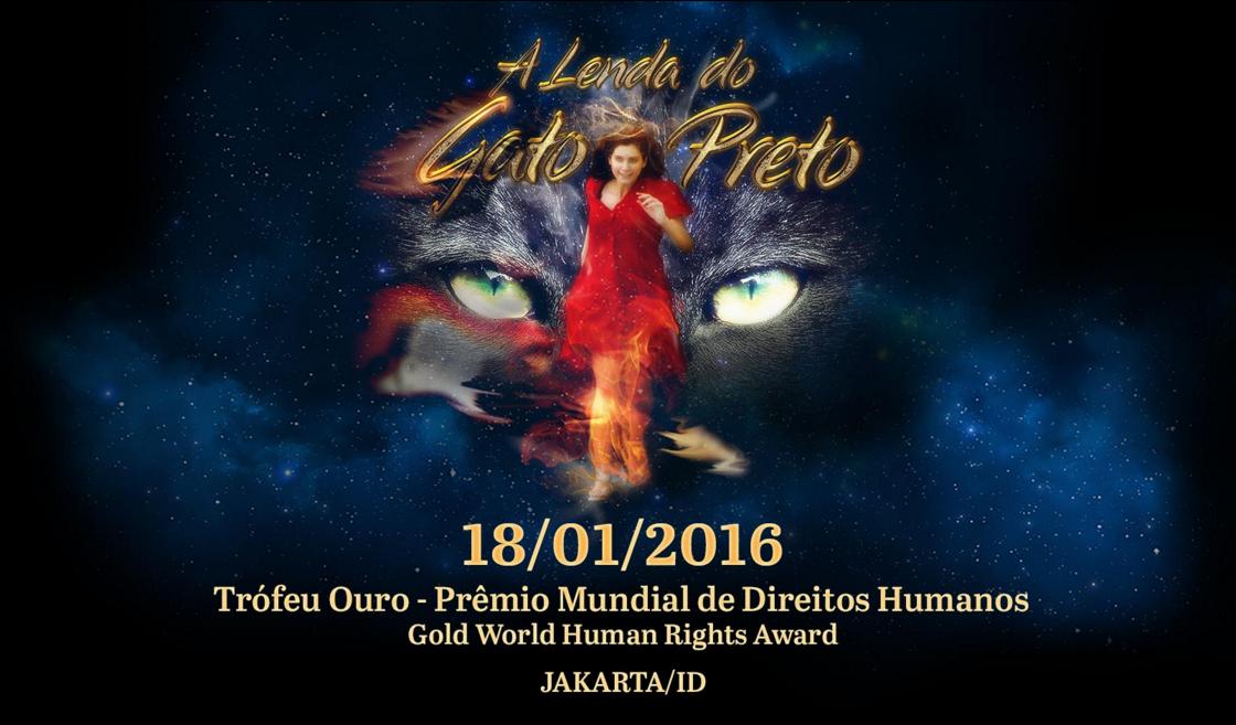 A Lenda do Gato Preto é premiado em Jakarta, Indonésia. Divulgação.