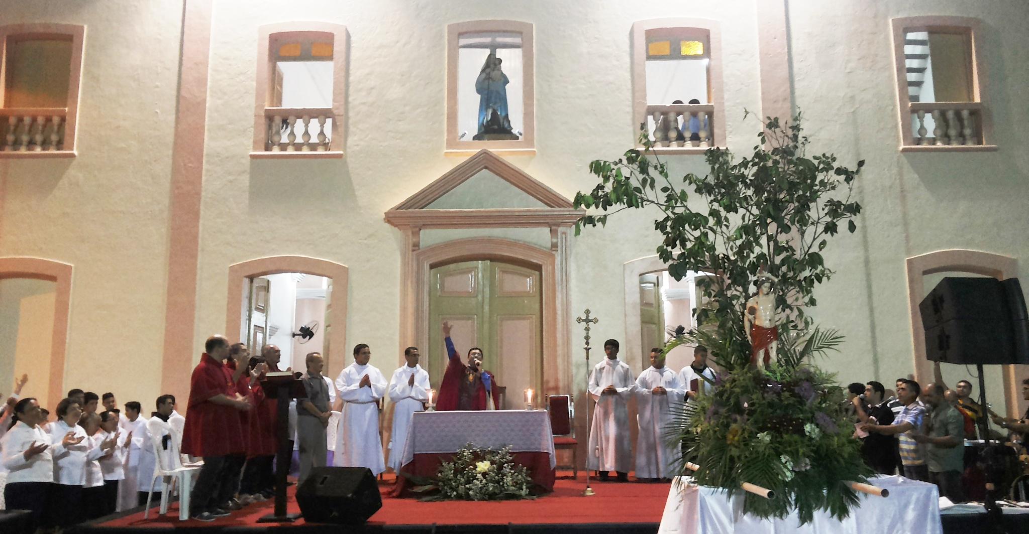 Missa de São Sebastião 2015. Foto Dadynha Saturnino