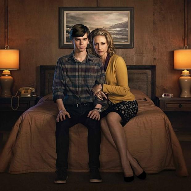 Freddie Highmore e Vera Farmiga são os protagonistas de Bates Motel