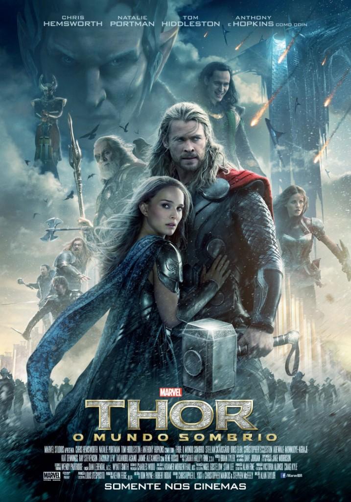 Pôster de 'Thor: O Mundo Sombrio'