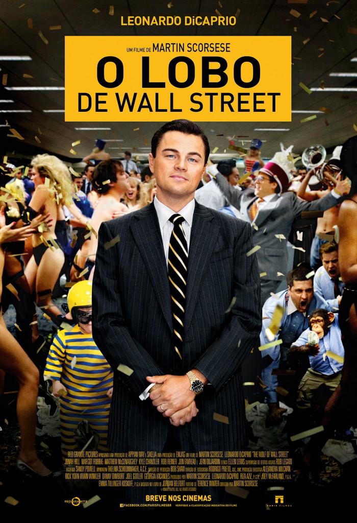 Pôster de 'O Lobo de Wall Street' - Foto: Divulgação