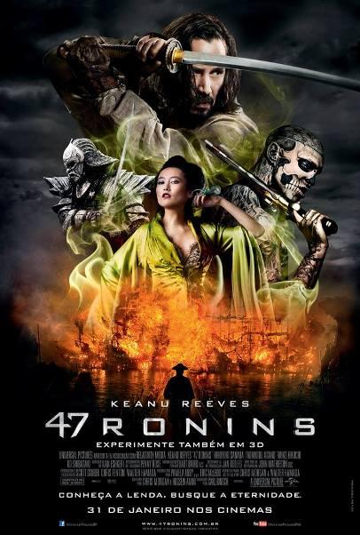 "Pôster de ""47 Ronins"""
