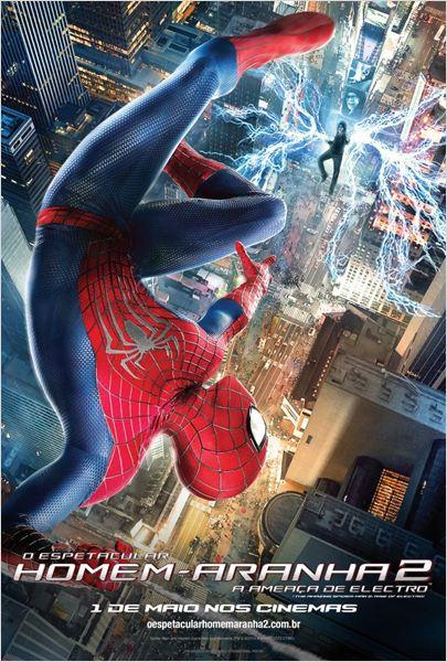 Pôster de 'O Espetacular Homem-Aranha 2: A Ameaça de Electro'