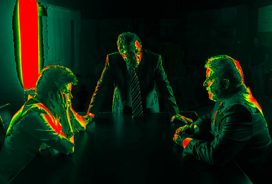 Dilma, João Santana e Lula: depois das mentiras eleitorais, o descrédito que alimenta a crise de confiança no governo.  (Arte sobre foto de Roberto Stucker/divulgação).