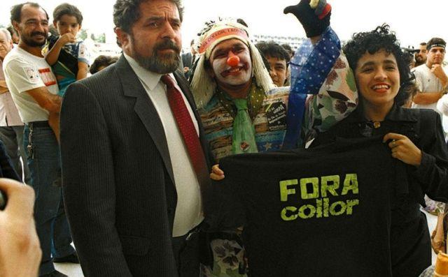 Dilma pede paciência ao povo. Collor pediu para não ficar só e a resposta foi o povo impaciente nas ruas num domingo.