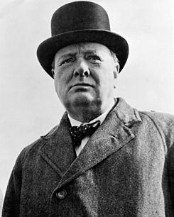 Churchill, o inglês, via longe. Já o Governo do Ceará...
