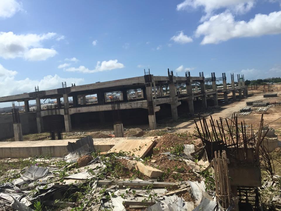 """""""Obras"""" de ampliação do Aeroporto de Fortaleza, para a Copa do Mundo. Foto: Ricardo Boechat"""