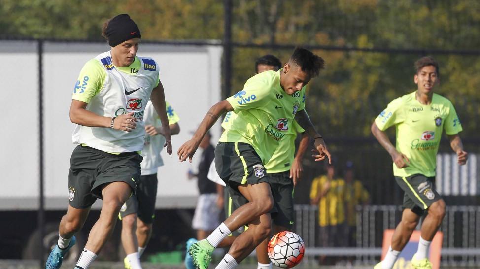 52d08a39acb40 Neymar será a principal ausência da Seleção canarinho nos dois primeiros  jogos nas Eliminatórias. Foto